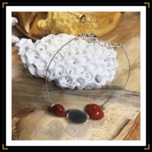 Bracelet fil graines