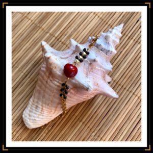 Bracelet graine coquillage