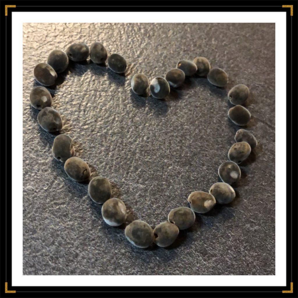 Coeur graines cadre