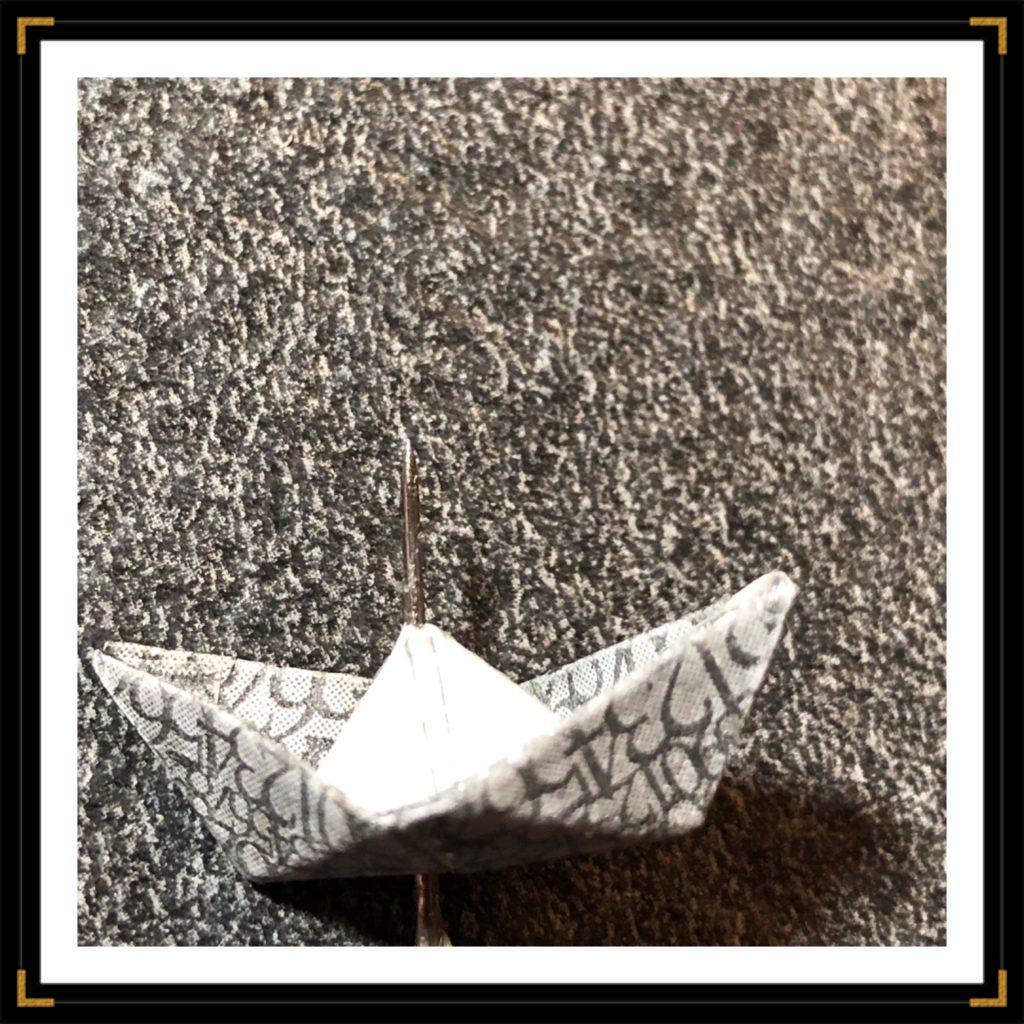 Origami bateau enveloppe 2