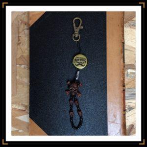 Porte clés caps skull