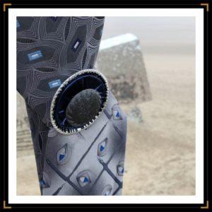 Zenlaces bleu gris capsule