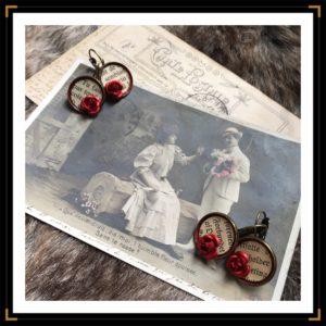 ZhistoiresdA petitesBO bronze livre rose rouge