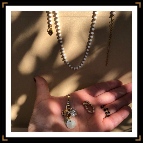 Ztrassees a mort collier accessoires